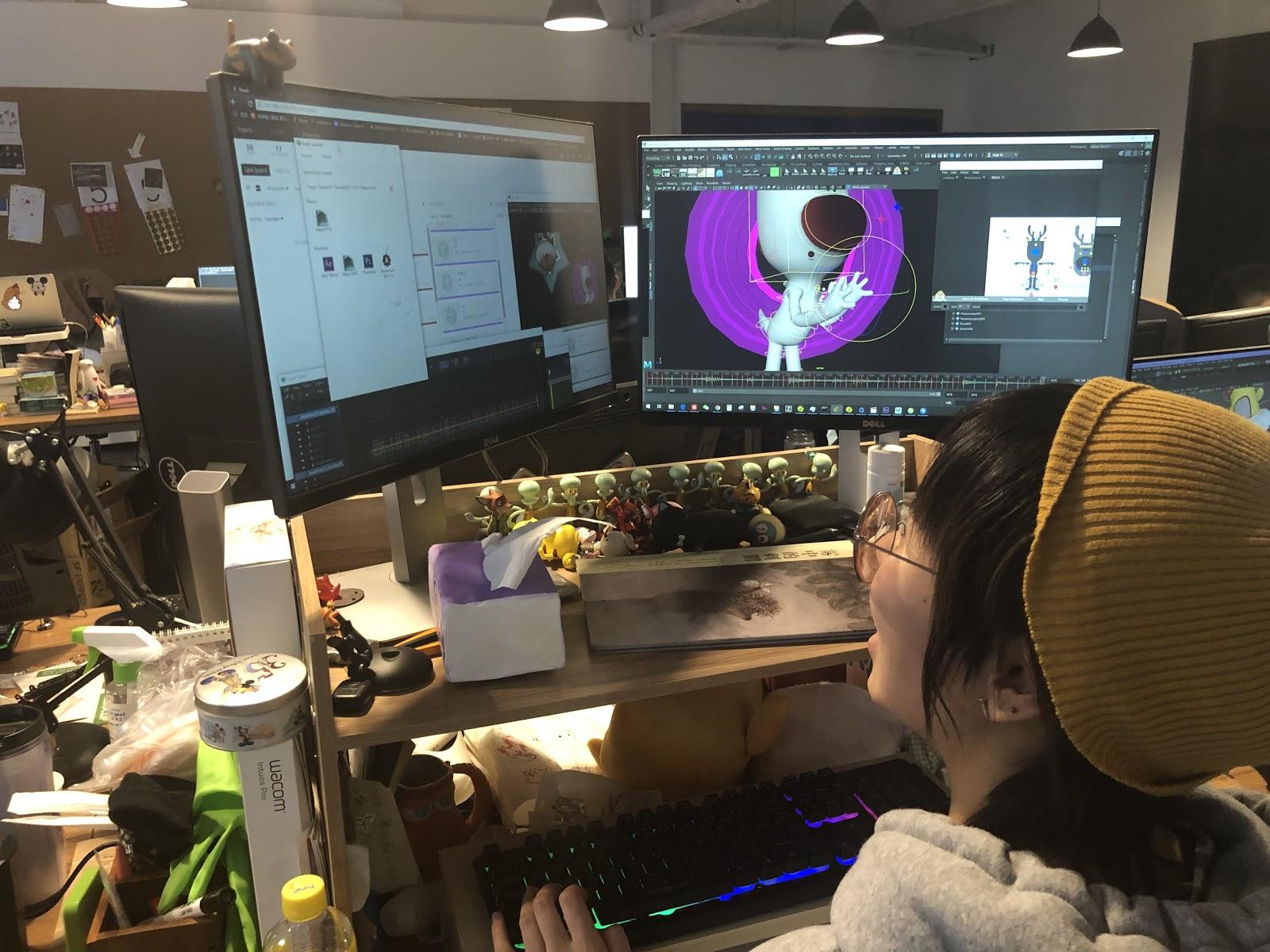 Wacom Desktop Center Operation In Progress