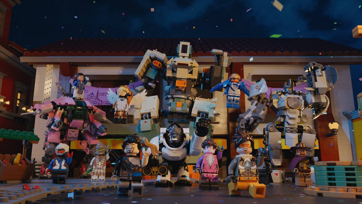 Brick by brick: Constructing a LEGO Overwatch short with